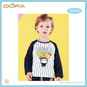 Popular Design for China Colorful Logo Printed Boy Polo Neck T Shirt