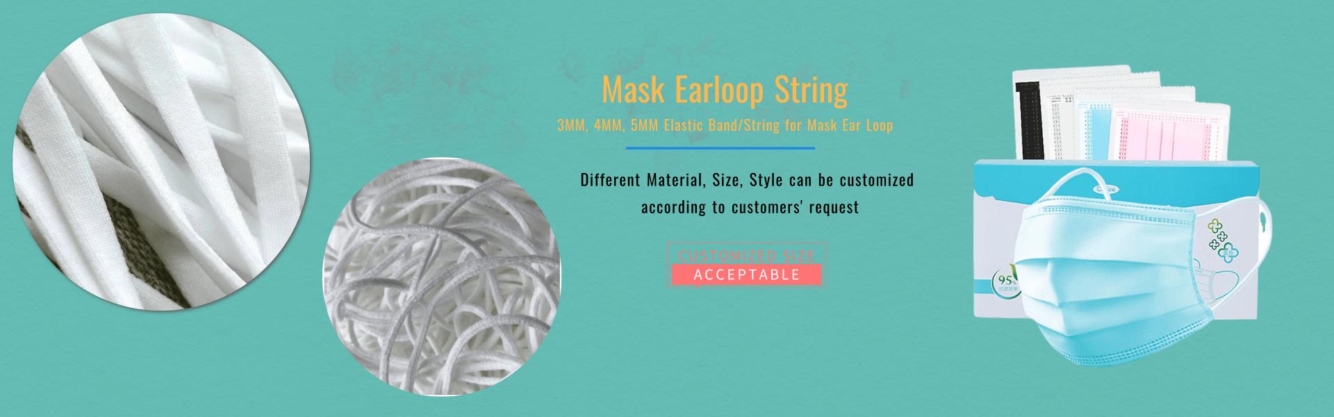 Mask Ear Loop String