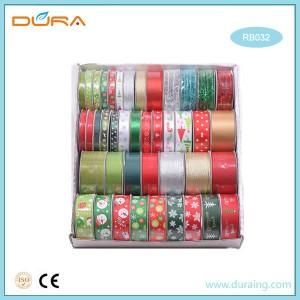 RB032 Christmas Gift Packing Satin Ribbon Set