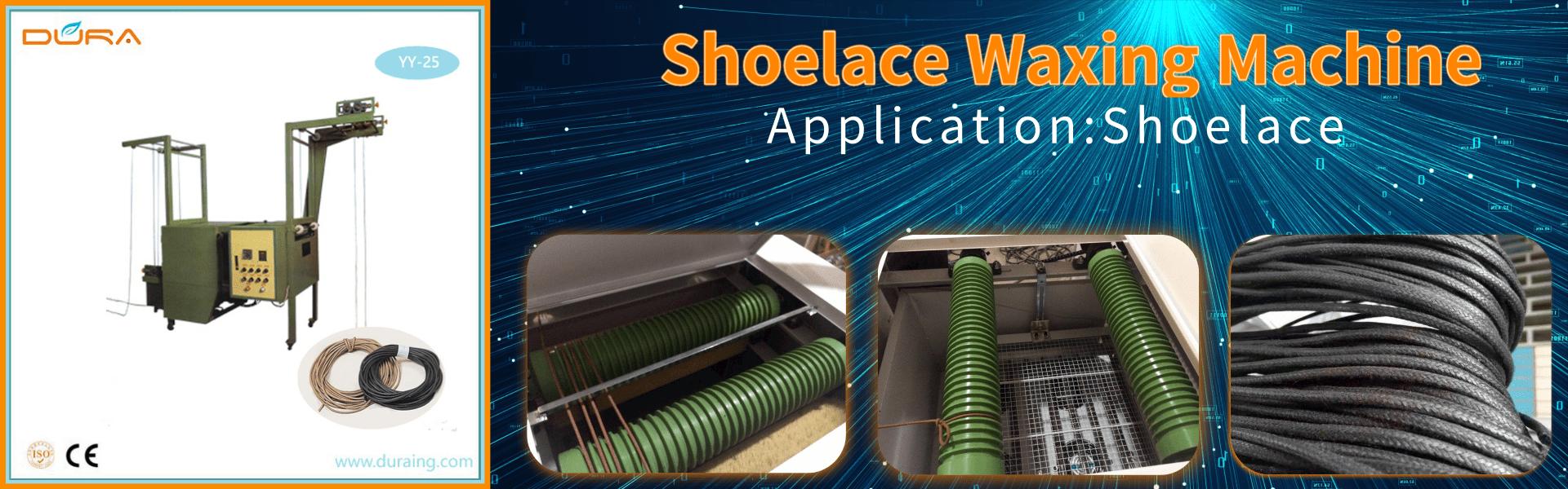 Shoelace Waxing Machine