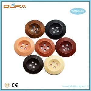 WDBT4H Wooden Button